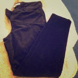 NWOT Black Velvet pants